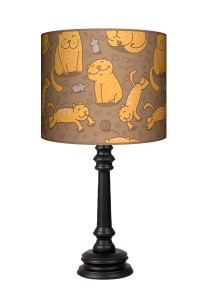Lampa Queen - Cat