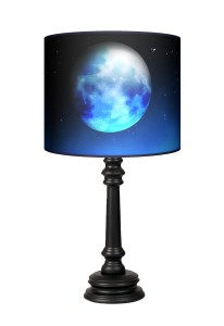 Lampa Queen - Blue moon