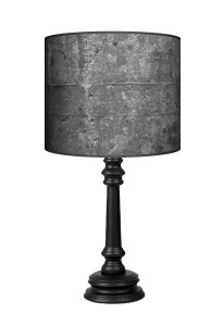 Lampa Queen - Black stone