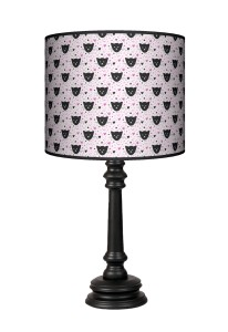 Lampa Queen - Black Cat