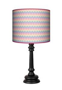 Lampa Queen - Colorful zygzak