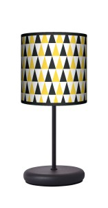 Lampa stołowa - EKO - Black & yellow