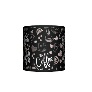 Abażur EKO - Coffee time black