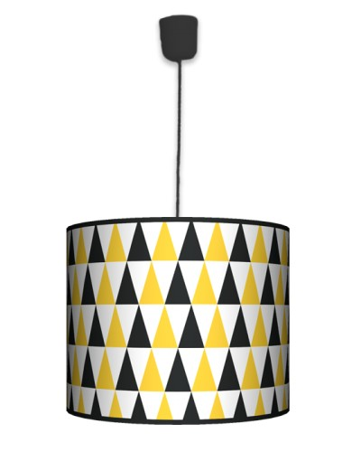 Lampa Black&yellow